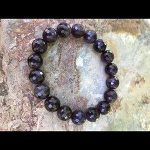 Jewelry - NWT. Genuine amethyst bracelet